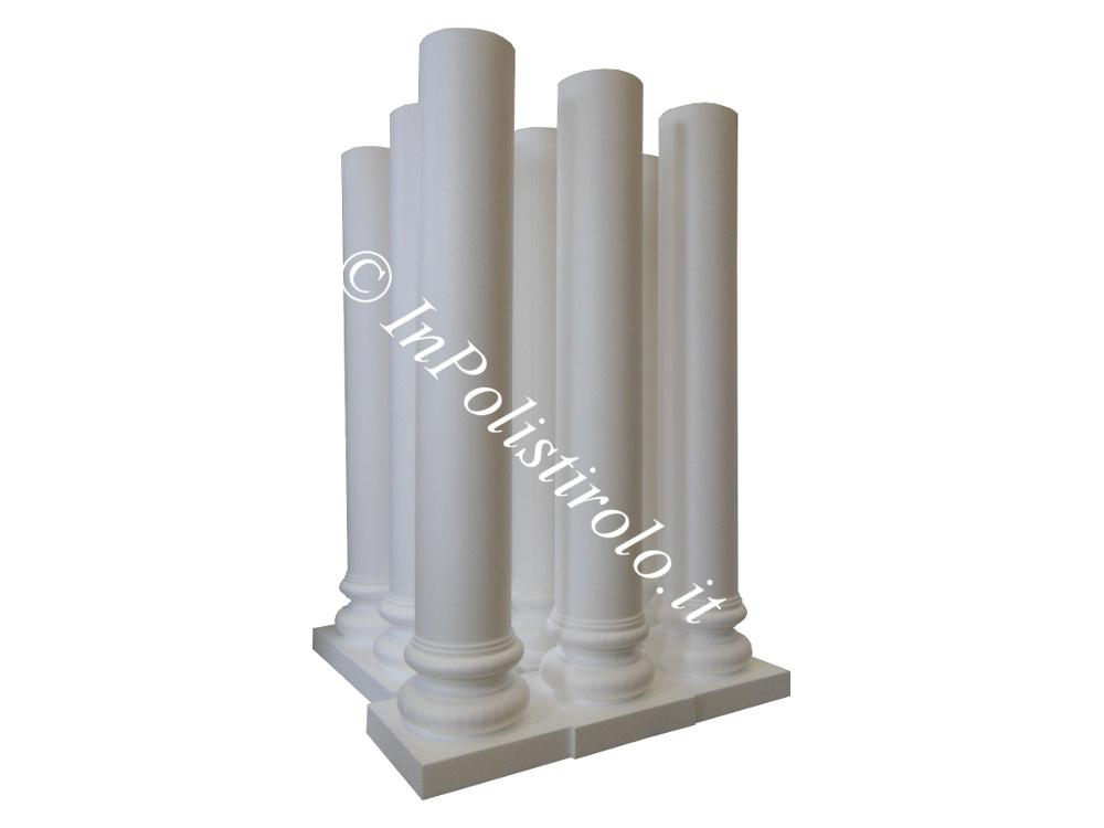 colonne 3d inpolistirolo