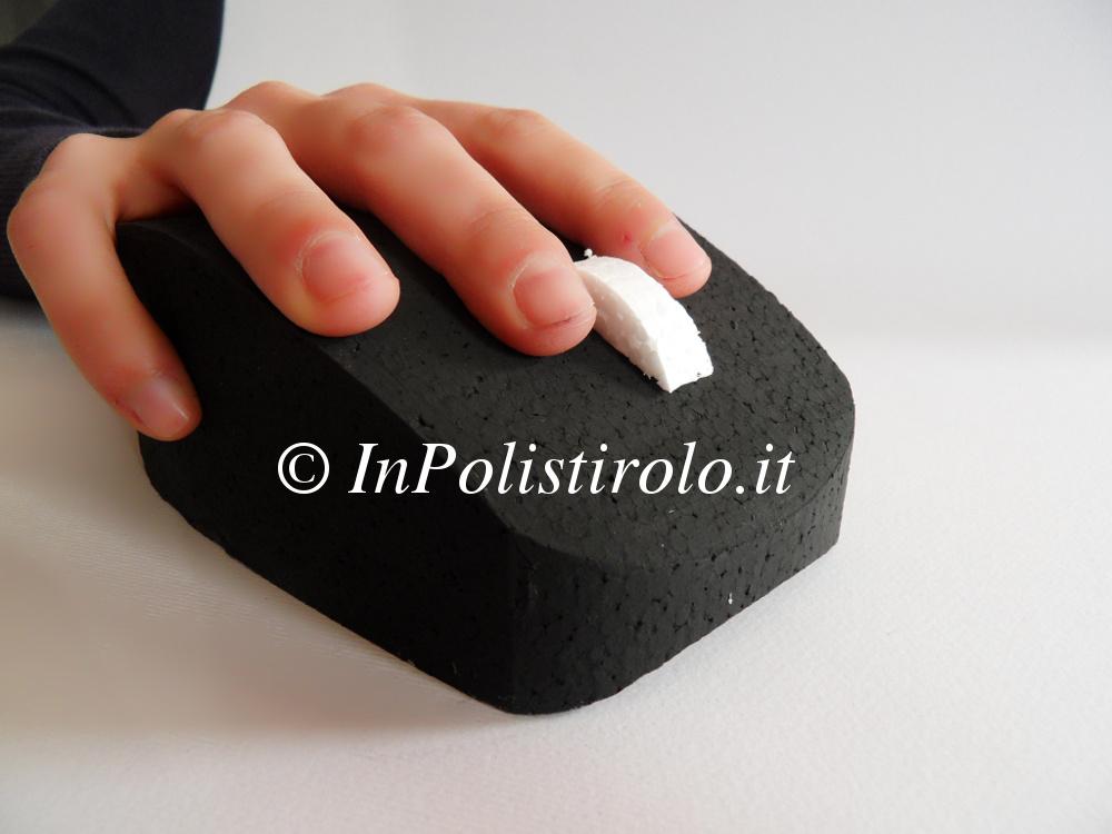 mouse 3d inpolistirolo