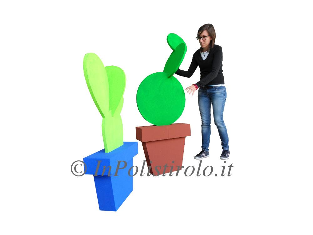 piante allestimento inpolistirolo