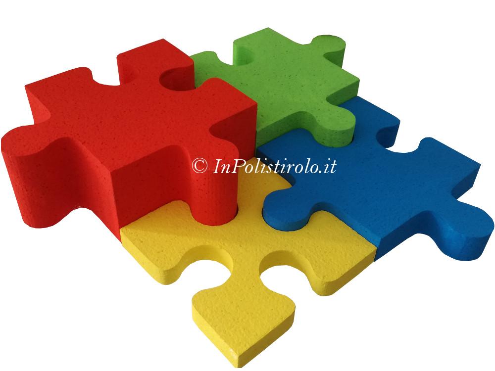 puzzle allestimento inpolistirolo