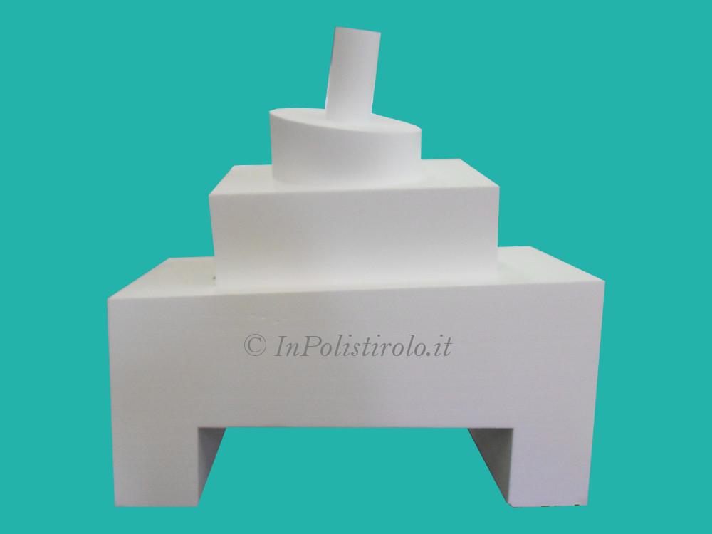 cake dummy misure varie inpolistirolo