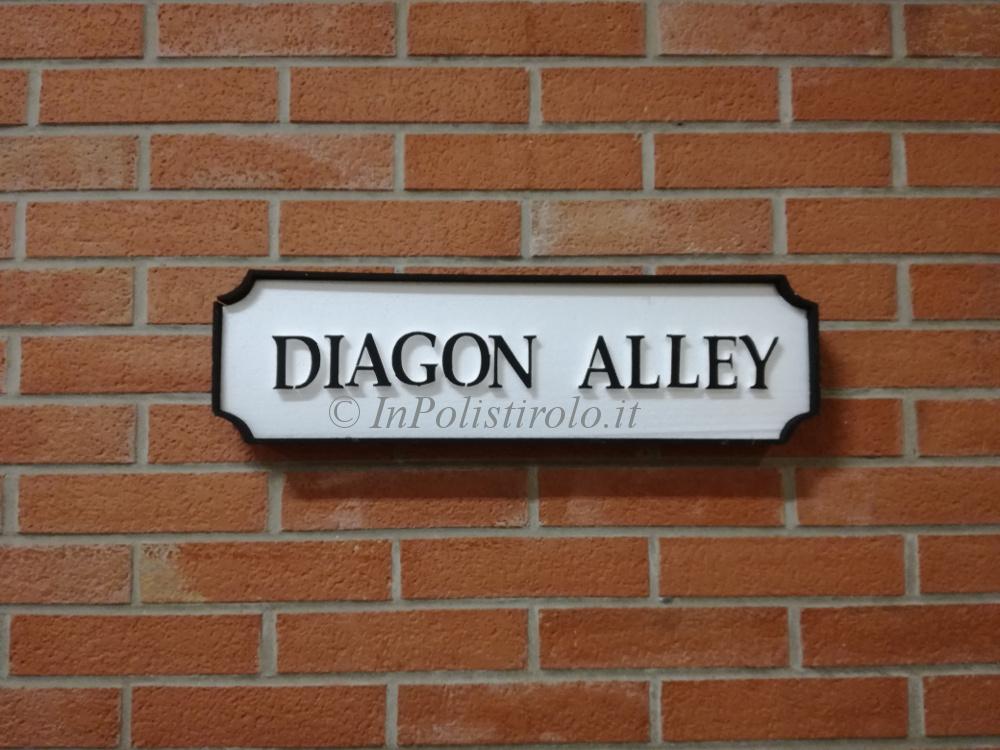 diagon alley3d inpolistirolo