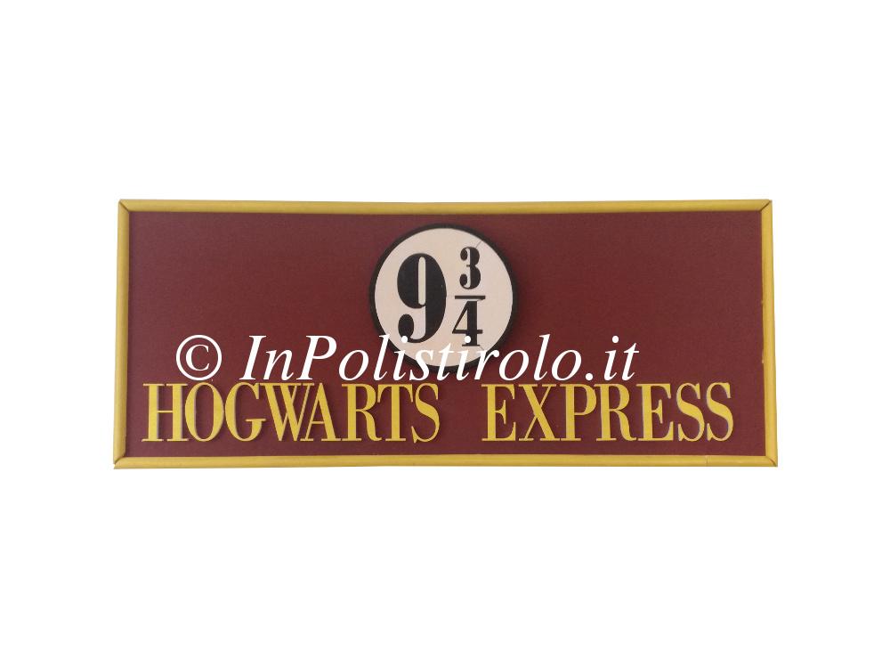 hogwarts express inpolistirolo 3d