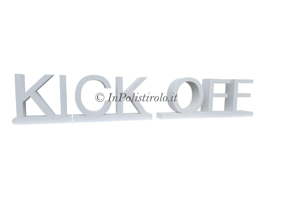kick off inpolistirolo
