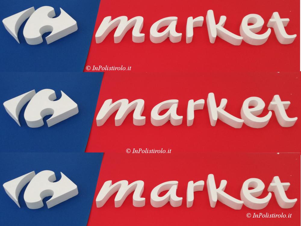 logo aziendale 3d inpolistirolo