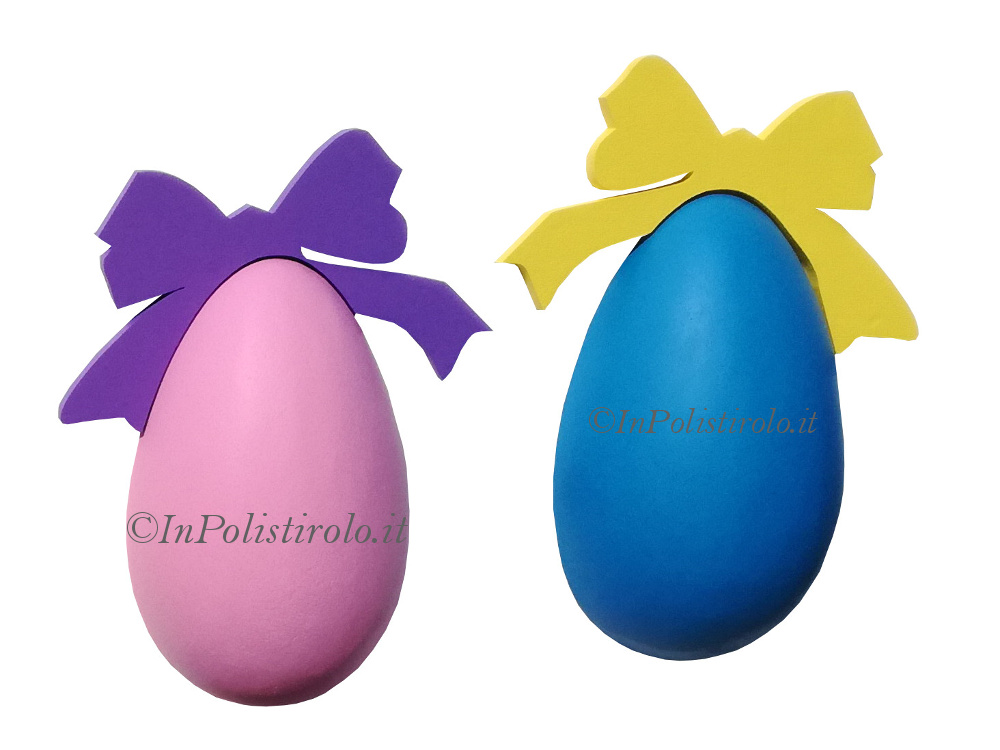 mezze uova 3d polistirolo