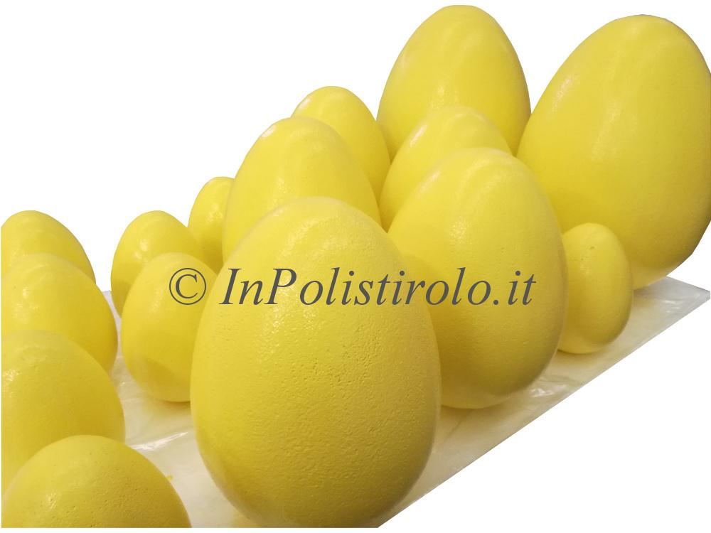 uova 3d colorate inpolistirolo